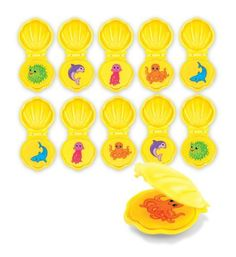 "Melissa & Doug Maritime Mates Memory Game by Melissa & Doug. $11.09. From the Manufacturer                Drop these seashells into the pool for an action-packed memory game. The set includes 10 hinged shells that open to reveal charming illustrations of the Maritime Mates. You'll need to explore the ""sea floor"" of your swimming pool to find the matching pairs. Instructions are included for a variety of exciting games, adaptable to all swimming levels. Lots of fun in and ..."