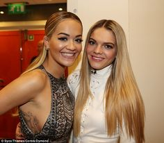 She's got The X Factor: Rita's remaining act, Louisa Johnson, has made it through to next weekend's nail-biting X Factor final