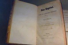 Capital. Karl Marx. First Volume. Hamburg. Edited by Otto Meissner 1867. (Deutsche Historisches Museum)