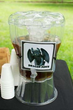 Kienan's How to train your dragon party | CatchMyParty.com                                                                                                                                                     More