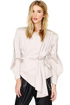 Thierry Mugler Blush Jacket