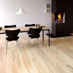 pickled oak floors