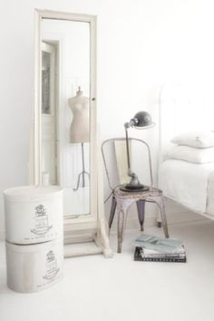 love the chair as a night stand