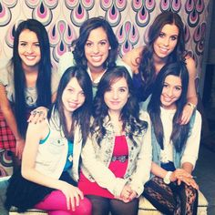 Cimorelli's photoshoot OMG their smiles