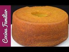 Bizcocho para hacer tartas con fondant | Recetas caseras paso a paso de Javier Romero - YouTube