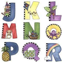 Abecedario infantil imagenes para imprimir