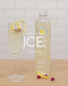 Made with Sparkling Ice Classic Lemonade, the Sparkling Lemon Drop cocktail is the perfect summertime beverage. Tap the Pin for details. Bar Drinks, Cocktail Drinks, Alcoholic Drinks, Beverages, Cocktails, Cocktail Recipes, Health And Fitness Articles, Health Tips, Summer Drinks