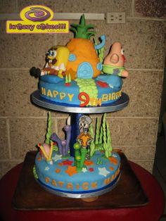 spongebob cakes | Krazzy Cakes!!!: Spongebob Cake