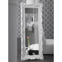 white mirror frames | Mirror, mirror, leaning against the wall – how will I fit you into ...