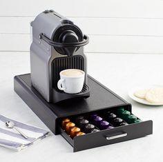 AmazonBasics Coffee Storage Drawer for Nespresso Capsules - 50 Capsule Capacity