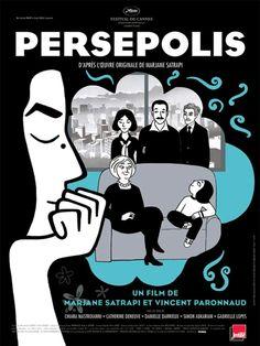 Persépolis (2007) es una película francesa de animación basada en la novela gráfica homónima de Marjane Satrapi dirigida por Vincent Paronnaud y producida por Xavier Rigault y Marc-Antoine Robert.
