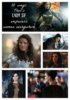 10 Ways Thor's Lady Sif Empowers Women Everywhere
