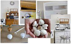Painted desk Shelving, Desk, Painting, Home Decor, Homemade Home Decor, Shelves, Desktop, Writing Desk, Painting Art