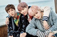 Jin, JHope and Jimin
