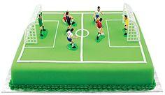 Set Topper per Torta Calcio/Footbal PME 9 Pezzi