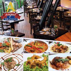 En Angus Brangus Parrilla Bar encuentras un menú variado con especialidades en: carnes, pescados, paellas y mariscos. Antójate de nuestras recetas!!!   Reservas: 2321632 - 310 7006602.  www.angusbrangus.com.co Cra. 42 # 34 - 15 / Vía las Palmas  #Medellín #AngusBrangus #RestaurantesMedellín #Medellínsísabe #quehacerenmedellín #gastronomia #recomendadosmedellín #dondecomerenmedellín #pescadosymariscos #mejoresrestaurantes #medellintown #medellincity #medellineats