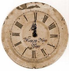 PRINTABLE CLOCK VINTAGE by tamara