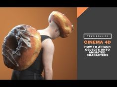 Cinema 4D - How To Attach Objects Onto Animated Characters - YouTube
