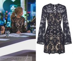 The Project: May 2017 Carrie's Black Lace Dress Lace Dress With Sleeves, Rodeo, Carrie, Carry On, Flare, Tv, Projects, How To Wear, Stuff To Buy