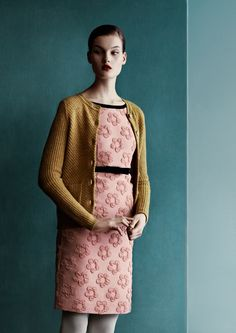 Photography by Julia Hetta.  Orla Kiely campaign shoot for AW 13