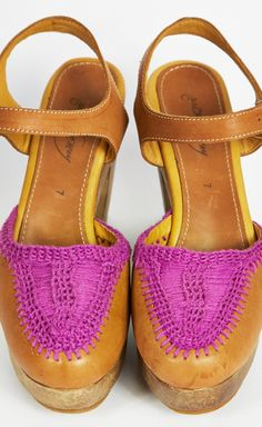 A lil' pizazz for those platforms.  Love that hint of Radiant Orchid!  #coloroftheyear