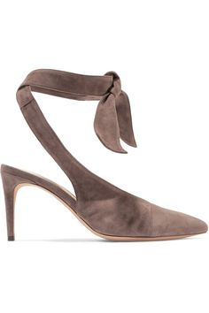 4d2ee324150 Alexandre Birman - Cariny knotted suede pumps