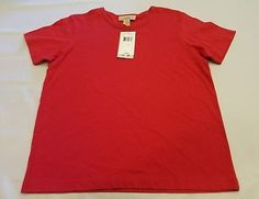 New Telluride Clothing M medium red tee Casual t shirt short sleeve top soft