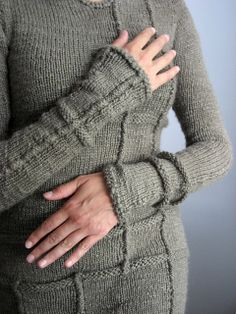"""""""A sweater I could never buy"""" by DayanaKnits, via Flickr"""