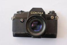 Front Side of Contax Quartz with Carl Zeiss Planar T* Zeiss, F 1, Binoculars, Quartz, Quartz Crystal