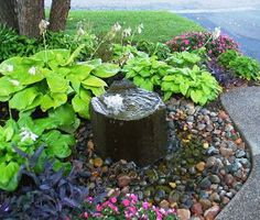 Flak's Blog: Pondless Water Features