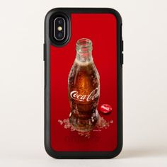 Coca-Cola | Ice Cold Bottle OtterBox Symmetry iPhone X Case - photography gifts diy custom unique special