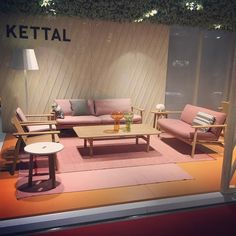 "Nautically-inspired ""Riva"" collection in teak by @jasper.morrison for @kettal - gorgeous and super comfortable! #design #furniture #salonedelmobile #outdoor by urbanspaceinteriors"