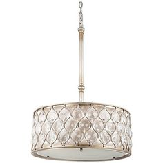 Feiss Lucia Collection 18 1/2  Wide Pendant Light - Style # N6461  sc 1 st  Pinterest : magnolia lighting - azcodes.com