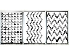 Set Geometric Prints (3 Black White Art) for Instant Download. #Printable Aztec Art to Decorate or Update your Home or Office Decor. Also for Printing on your T-shirts, Mugs... #blackandwhite #print #printable #poster #décor #love #beautiful #style #bnw #handmade ➡️ http://jto.li/6ESyw