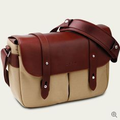 472f34680189 ZKIN CHAMP CAMEL BROWN - Camera bag or you can always use it as everyday  wear