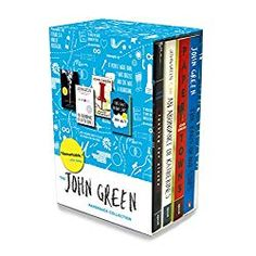 Books: John Green Box Set: Looking for Alaska, An Abundance of Katherines, Paper Towns, and The Fault in Our Stars, An Abundance Of Katherines, John Green Books, 12 Year Old Boy, Looking For Alaska, Green Box, Teenage Girl Gifts, Paper Towns, Thing 1, The Fault In Our Stars