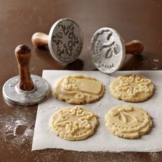 Use These Cute Christmas Cookie Stamps to Show Your Seal of Approval trendhunter.com