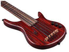 Kala UBass California RED FS4 - Thomann www.thomann.de #red #bass #ukulele #ukuleleplayer #instrument #music #stringinstrument #aloha #hawaii