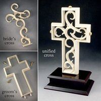 UNITY CROSS CEREMONY - Ceremonies and Wedding Vows @Brittney Williams instead of the unity candle.