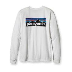Patagonia Long-Sleeved Logo T-Shirt