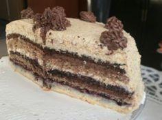 Skladaná orechová torta - obrázok 9 Bosnian Recipes, Hungarian Recipes, Bosnian Food, Let Them Eat Cake, Nutella, Cake Decorating, Bakery, Food And Drink, Cooking Recipes