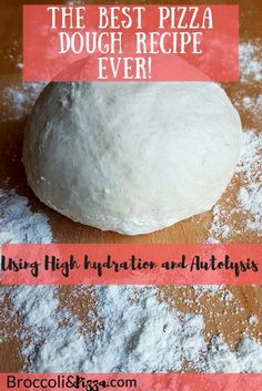 The best pizza dough recipe. Using High hydration and Autolysis – Broccoli&Pizza Pizza And More, How To Make Pizza, Broccoli Pizza, Best Pizza Dough Recipe, Best Homemade Pizza, Good Pizza, How To Introduce Yourself, Tasty, Good Things
