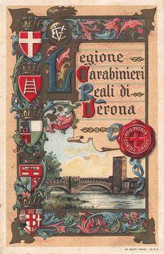 Verona - Carabinieri Reali di Verona - 1922
