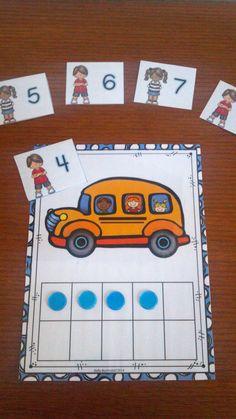 So many fun, hands on activities for Back to School Kindergarten math.