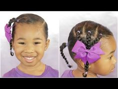 Easy Pinterest Inspired Hairstyle - YouTube Toddler Hairstyles, Girl Hairstyles, Hairstyle For Girls Video, Rat Tail Comb, Beauty Tips, Beauty Hacks, Sally Beauty, Online Checks, One Hair