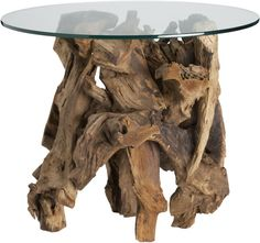 Driftwood Side Table in Accent Tables | Crate and Barrel
