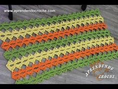 Tapete de Crochê/ barbante: 80 modelos incríveis,como fazer! – Doce Obra