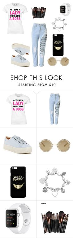 """""""Day 7 - 100 day Challenge"""" by sofifer ❤ liked on Polyvore featuring Marc Fisher LTD, Dolce&Gabbana and ChloBo"""