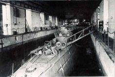U-Boot typ IX C in bunker