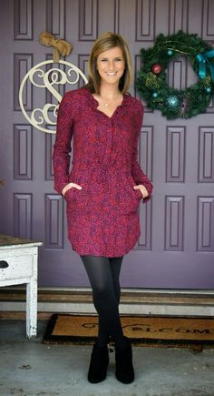 February Stitch Fix Review [One Of My Favorites Yet] I like this on her - not sure it would work for me.
